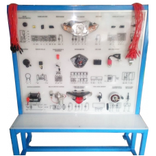 Simulator Sistem Kelistrikan Sepeda Motor Lengkap (Tipe Bebek/Cub)/Alat Peraga Pembelajaran Otomotif TSM