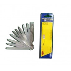 Feeler Gauge Set 13 Blade/Alat Ukur Celah Klep Katup / Celah Busi (0,05-1mm) Kipas / American Tools