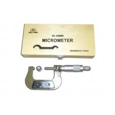 Mikrometer Ekternal (25-50 mm)/Periksa Diameter Luar - Tricle Brand/Toki Harga Hemat