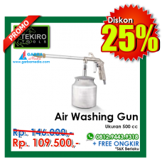 Air Washing Gun