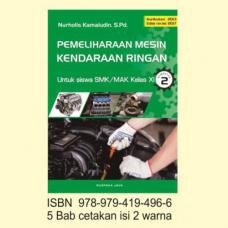 Buku Pemeliharaan Mesin Kendaraan Ringan SMK/MAK Kelas XI Semester 2