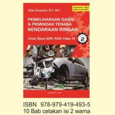 Buku Pemeliharaan Sasis & Pemindah Tenaga Kendaraan Ringan Kls XII S2