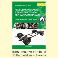 Buku Pemeliharaan Sasis & Pemindah Tenaga Kendaraan Ringan SMK/MAK KELAS XI Semester 2