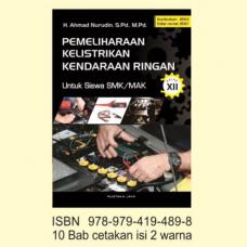 Buku Pemeliharaan Kelistrikan Kendaraan Ringan SMK/MAK Kelas XII