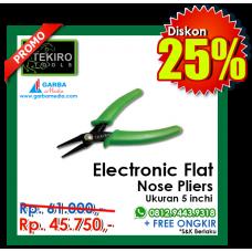 Electronic Flat Nose Pliers Tekiro
