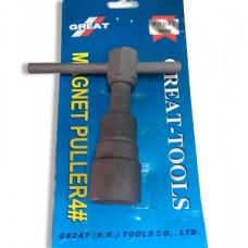 Fly wheel Puller #4 / Treker Magnet / Alat Melepas Magnet Motor Honda Grand, Supra Series, GL, Satria F 150, Shogun, RX King