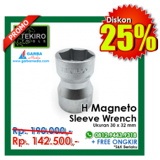 H Magneto Sleeve Wrench