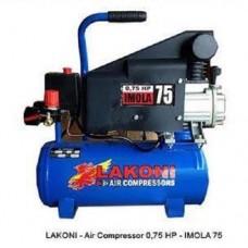 Kompresor listrik IMOLA 0,75HP / 10 Lt