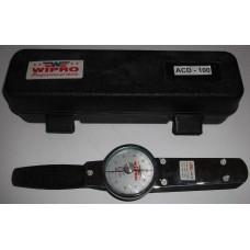 Kunci Momen Jarum/Dial/Kunci Torsi Dial 0 - 100 N.M