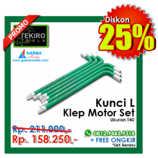 Kunci L Klep Motor Set