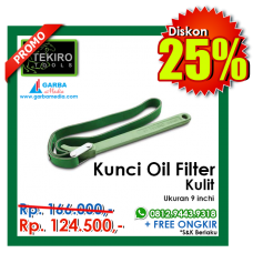 Kunci Oil Filter ( Kulit ) Tekiro