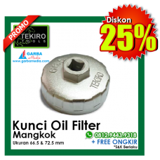 Kunci Oil Filter (  Mangkok  ) Tekiro