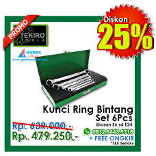 Kunci Ring Bintang Set TEKIRO