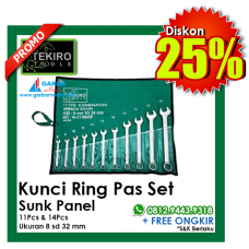 Kunci Ring Pas Set Sunk Panel TEKIRO