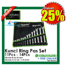 Kunci Ring Pas Set Tekiro