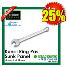 Kunci Ring Pas - Sunk Panel MERK TEKIRO
