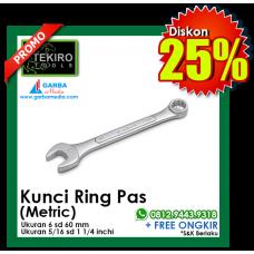 Kunci Ring Pas (Metric) Satuan Tekiro