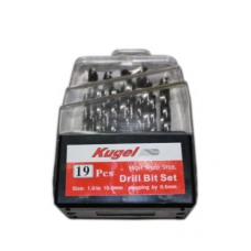 HSS Drill Set KUGEL 19 PC