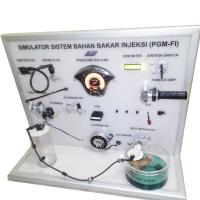Simulator Sistem Injeksi - Honda PGM-FI/Reset ECM/Cara Kerja dan Pemeriksaan Motor Injeksi/Alat Peraga Injeksi