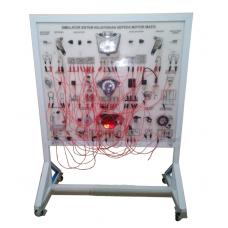 Simulator Sistem Kelistrikan Sepeda Motor Lengkap (Tipe Matic/Scooter)/Alat Peraga Pembelajaran Otomotif TSM