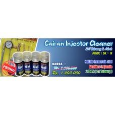 Alat pembersih Injektor/Injector Cleaner plus 24 tabung SR-15 (Paket)