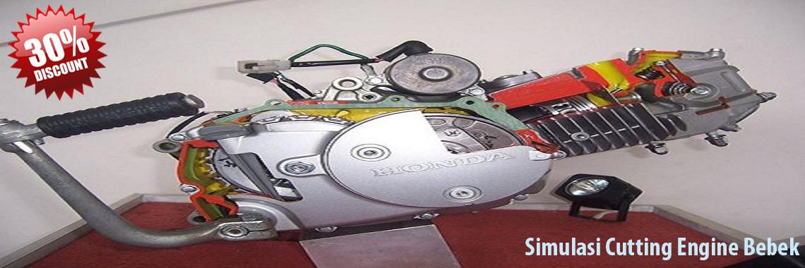 Simulasi Cutting Engine Bebek